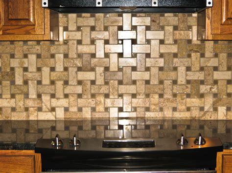 basketweave tile backsplash hammes residential builder muskegon 1