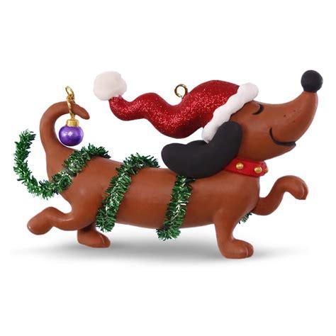 2016 wiener wonderland dachshund hallmark keepsake