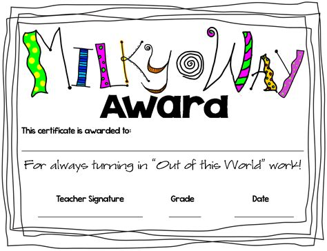 superlative certificate template superlative awards ideas just b cause