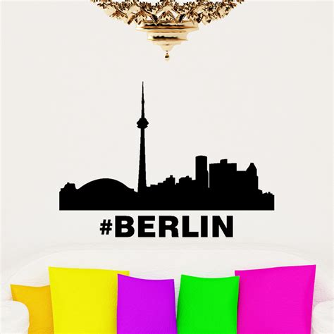 Berlin Sticker by Sticker Motif Berlin Stickers Villes Et Voyages Pays Et