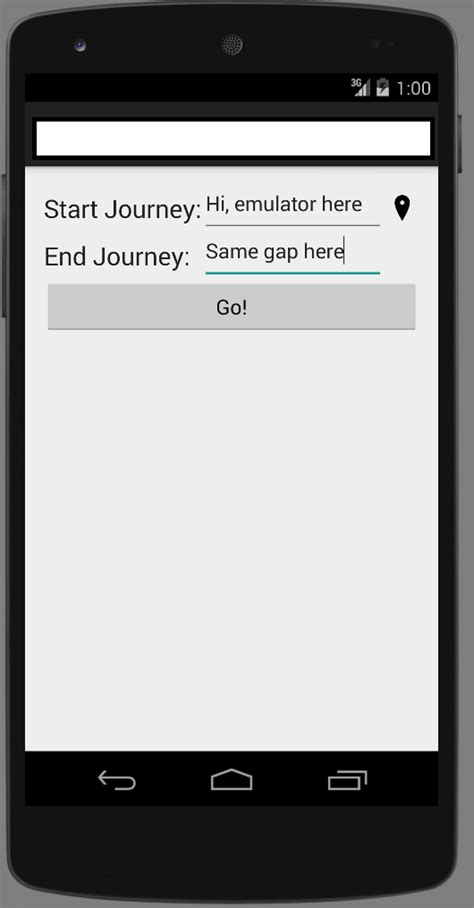 android layout xml edittext android edittext gap between text and edittext s line