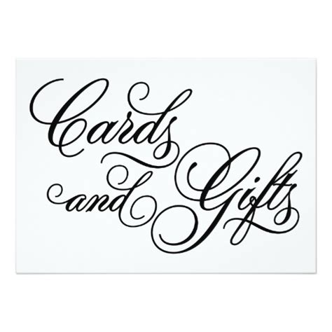 Cards And Gifts - classical cards gifts wedding sign zazzle
