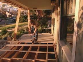 how to install porch flooring how tos diy