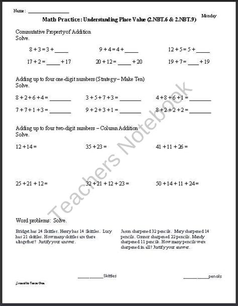 Integrated Math Worksheets by Common Integrated Math 2 Worksheets Median