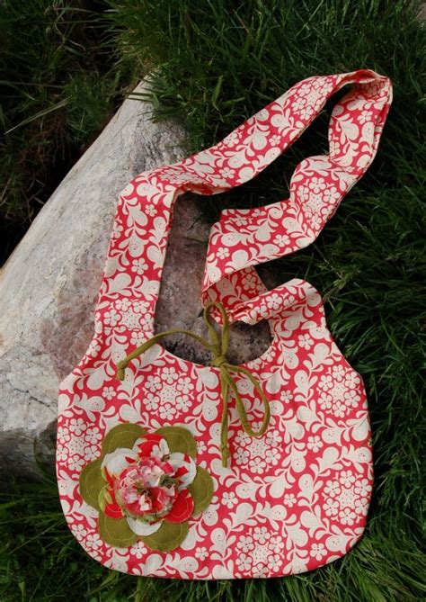 Flower Flip Sling Bag quilts it s a flower come join