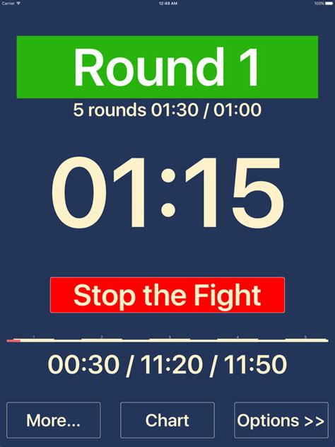 best boxing news app boxing itimer screenshot
