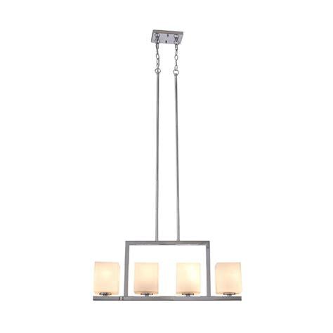 design house karsen design house karsen 4 light polished chrome linear pendant