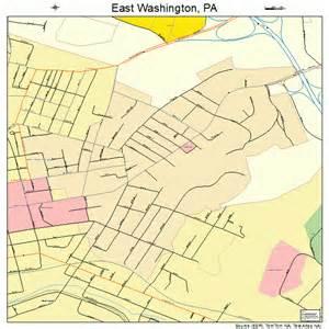 Washington Pa Map by East Washington Pennsylvania Street Map 4222016