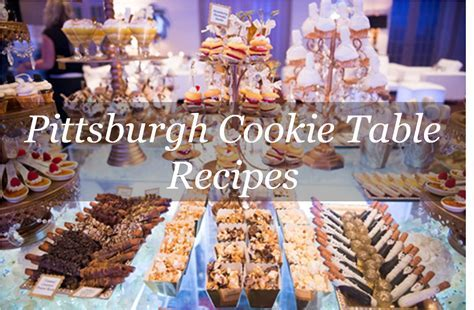 Pittsburgh Cookie Table   The Event Group Weddings