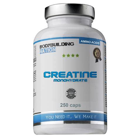 creatine bodybuilding bodybuilding nation creatine monohydrate cr 233 atines