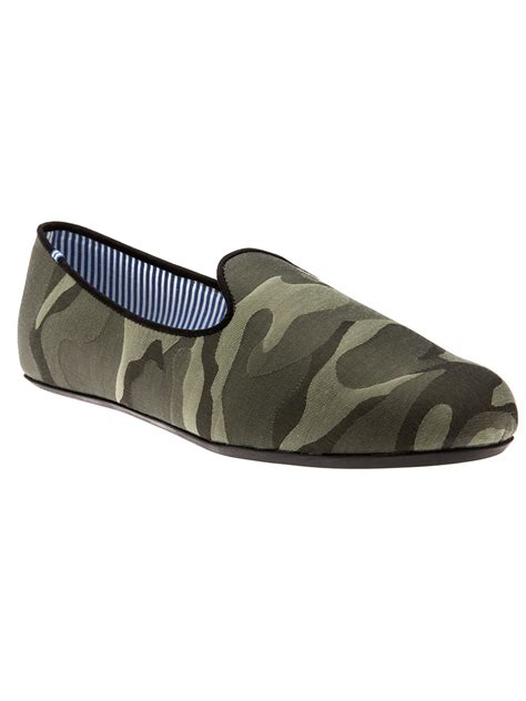 camo loafers charles philip shanghai camo loafer in green for camo