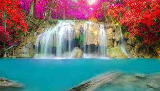 desk waterfall waterfalls wallpapers images photos pictures backgrounds