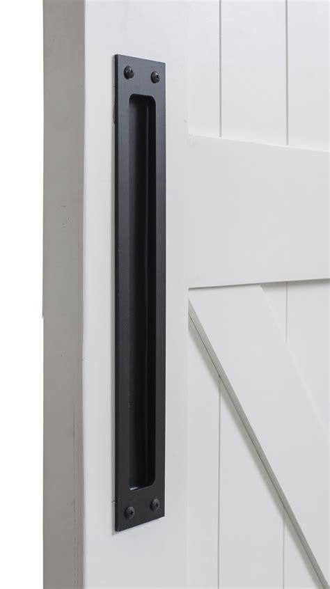 barn door pulls modern flush barn door pull rustica hardware
