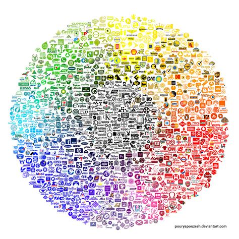 How Color Affects Your Mood logo color wheel by pouryapouzesh on deviantart