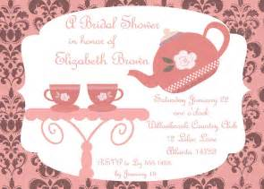 Free Bridal Shower Tea Invitation Templates by Bridal Shower Tea Invitations Bridal Shower Tea