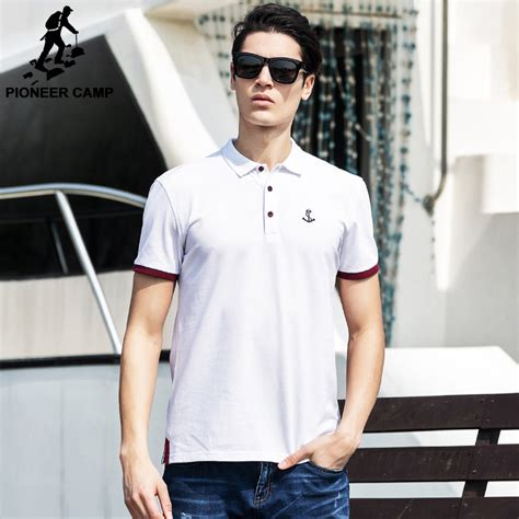 Celana Softjeans Polos pioneer c 2016 casual white polo shirt summer polo homme 100 cotton brand clothing soft