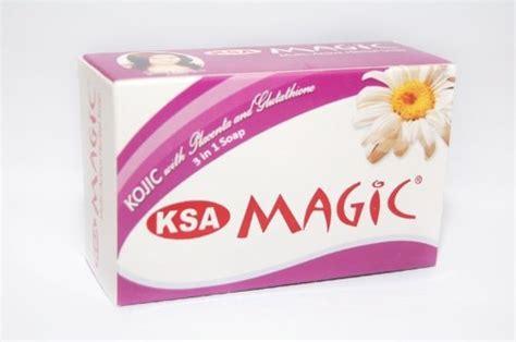 Gluta Placenta ksa magic 3in1 whitening soap kojic with placenta and