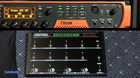Eleven Rack User Manual by Sweetwater Eleven Rack Presets