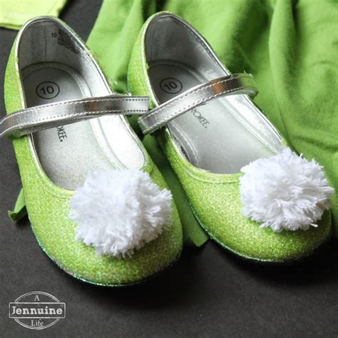 diy tinkerbell shoes thrifty to nifty thursdays 41 a jennuine