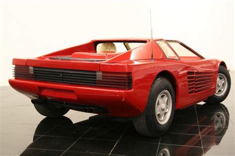 Go Kart Ferrari by Ferrari Testarossa Go Kart Photo Gallery Autoblog