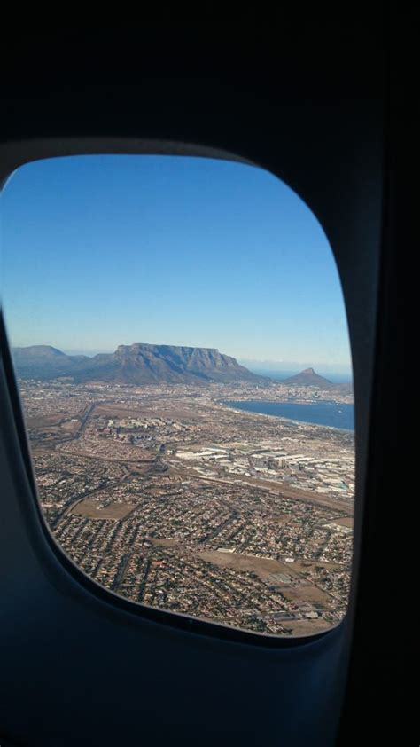 monday geology picture airplane view  table mountain