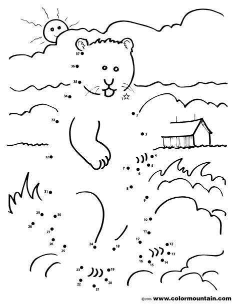 groundhog coloring pages preschool groundhog coloring dot to dot coloring page happy