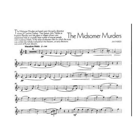 Theme Music Midsomer Murders | 29 best images about violin on pinterest sheet music