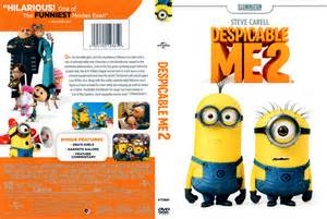 Despicable Me 2 DVD Cover (2013) R1 Scan R.i.p.d. Dvd