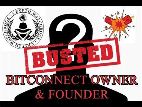 bitconnect owner bitconnect owner discovered scam class action lawsuit