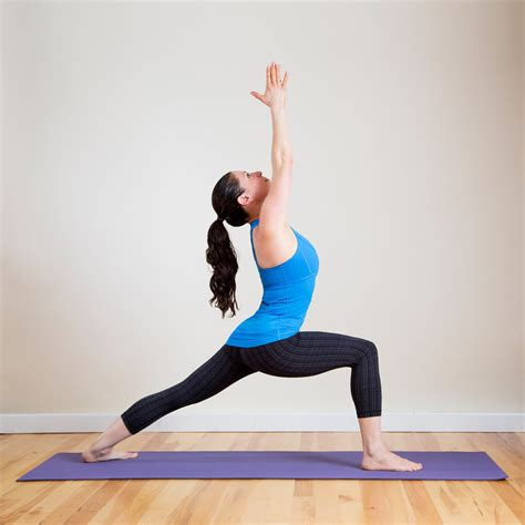 yoga warrior warrior 1 pose open your heart for valentine s day with