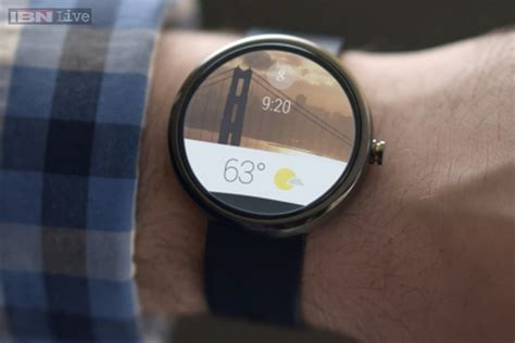 what is android wear says android wear smartwatches to be available later this year news18