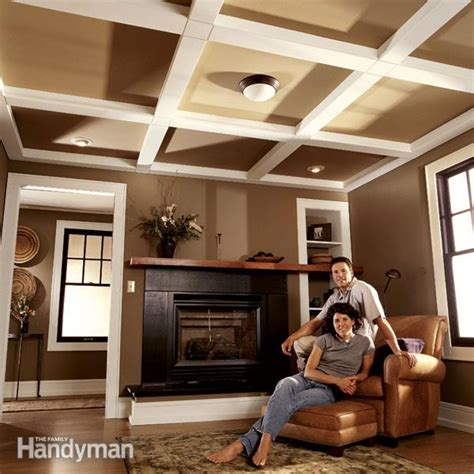 How To Install Decorative Ceiling Beams by Ceiling Panels How To Install A Beam And Panel Ceiling