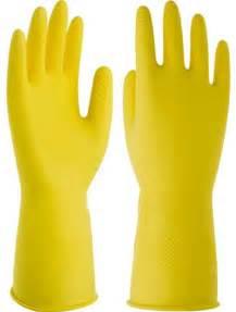 Rubber Gloves Kitchen Gloves Yellow Washing Kitchen Rubber Glovesyellow Washing Kitchen