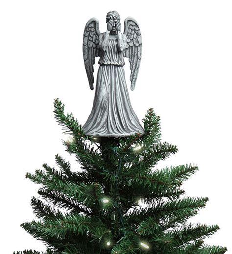 think geek weeping angel christmas topper merchandise