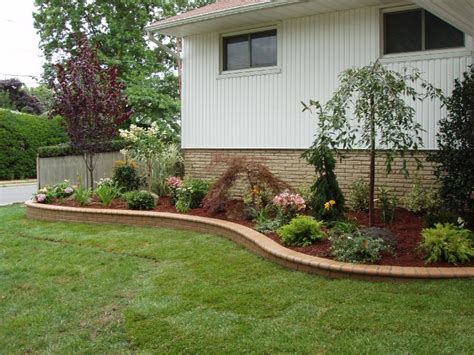 the simple front yard landscaping ideas front yard