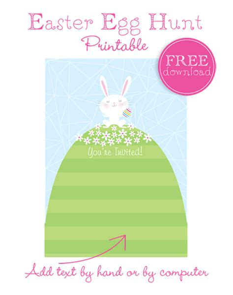 easter egg hunt template free planning a neighborhood easter egg hunt plus a free