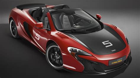 Cheapest Supercars To Maintain by Mclaren Shows 650s Can Am Spider In Papaya Spark And