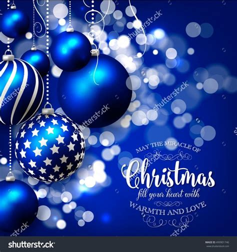 Merry Christmas And Happy New Year Gift Card - christmas invitation with christmas balls merry christmas and happy new year card