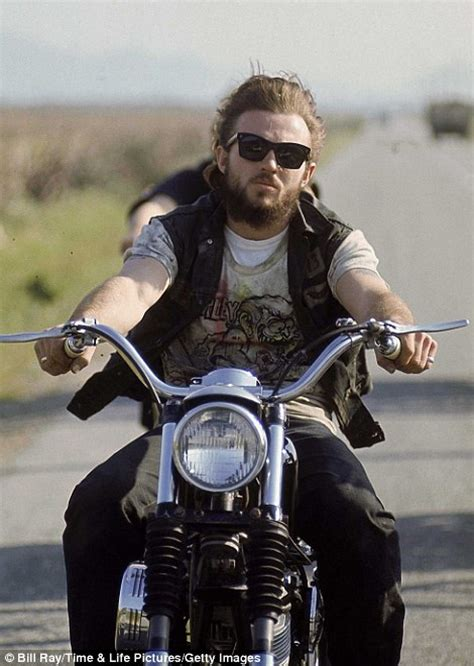 long hairstyles for a biker man images of hells angels taken after photographer