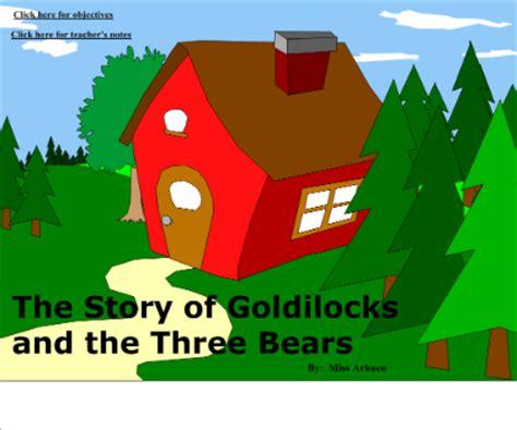 Goldilocks And The Three Bears Plot Diagram
