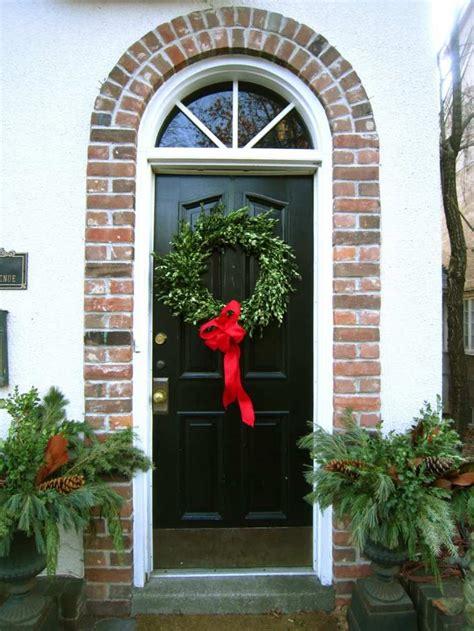 decoration noel exterieur maison decoration noel porte entree accueil design et mobilier