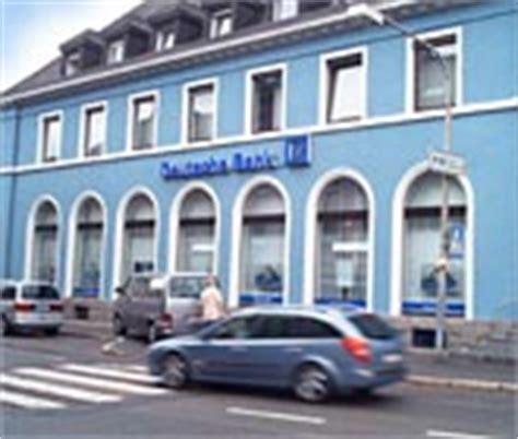 Deutsche Bank Investment Finanzcenter Bad S 228 Ckingen