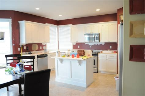 professional kitchen cabinet painting the dizzy house my no fear way to paint your kitchen