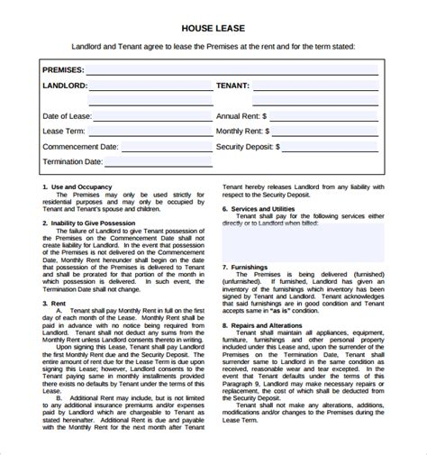 sle house lease agreement template house lease agreement template www a ma us