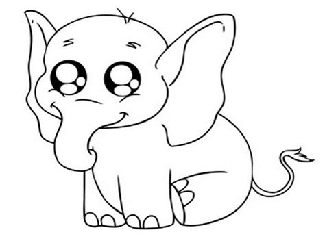 coloring pictures free printable elephant coloring pages for animal place