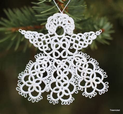 59 best tatting angels images on pinterest lace