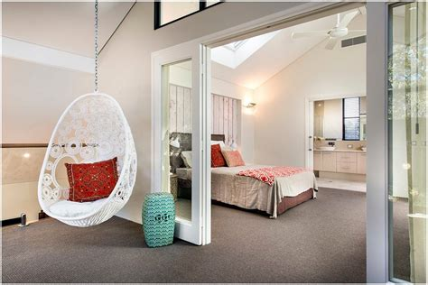 hanging bedroom chair beautiful hanging chair for bedroom that you ll love