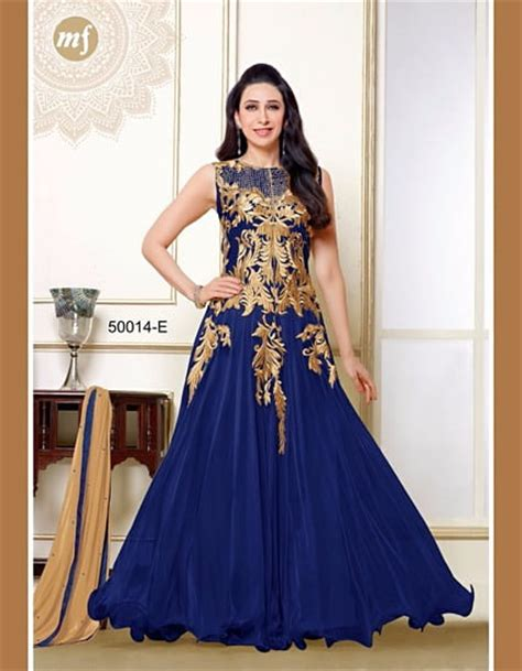 gaun dress design in pakistan karishma005 blue gaun by bluenile retail online shopping