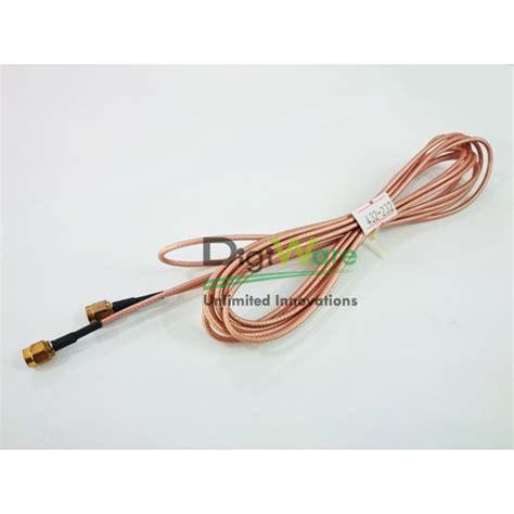 Kabel Ekstensi Antena Rp Sma Ke 3 Meter Black rfid antenna cable sma to sma length 306 3 cm