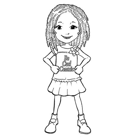 Teach Your Girls To Love Their Curls With Becurlcentric Free Printable Coloring Pages For Children L